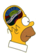 homer's brain - the-simpsons icon