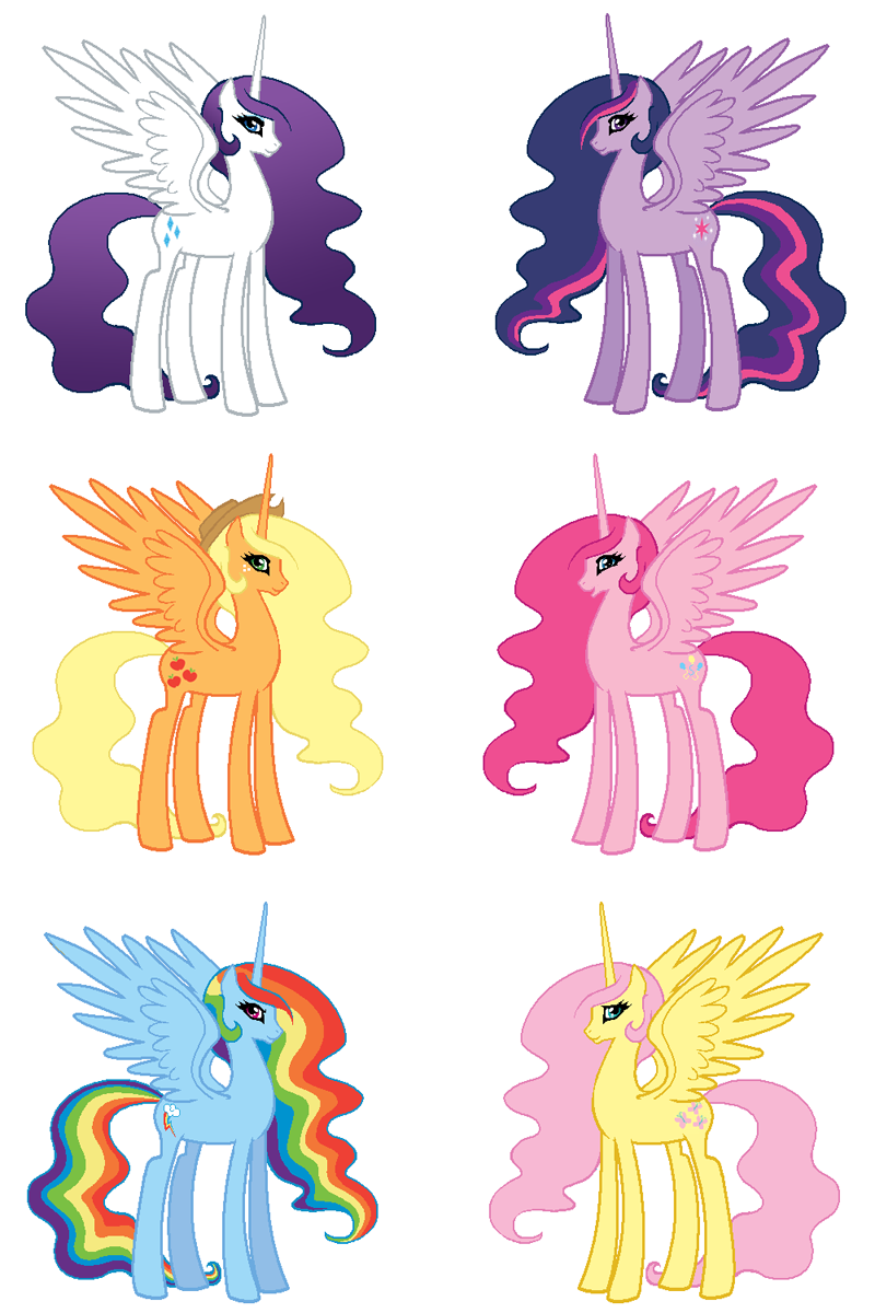 My little pony friendship is magic horses