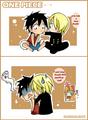 luffy & sanji