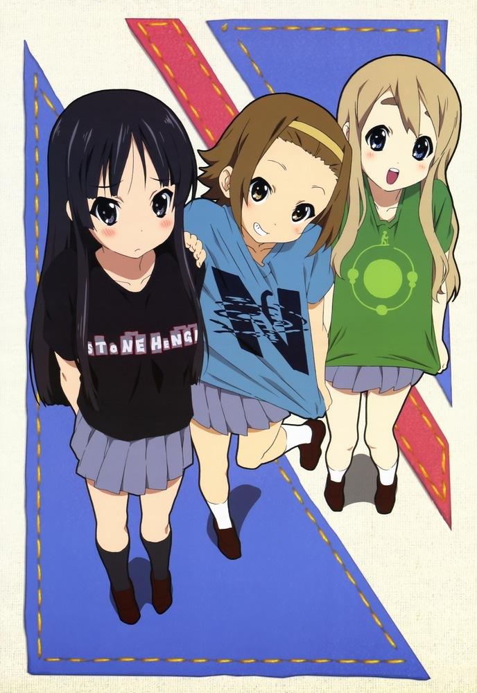 K-ON  mio  ritsu  amp mugi  K On Ritsu And Mio