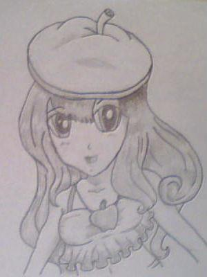 my animé drawing :3