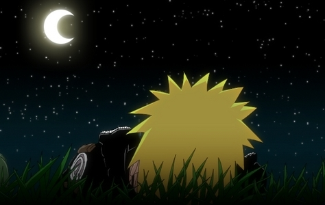 naruto at night