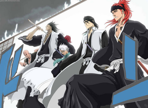 anime ya Bleach karatasi la kupamba ukuta entitled new look!!