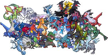pokemon dragon types