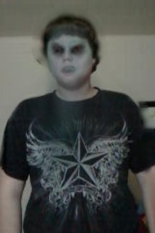 rantora13 as a ghost/zombie