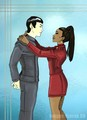 science and progress - spock-and-uhura fan art