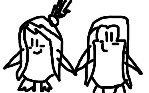 uncoloured Jenoski - jenny-the-penguin Photo