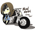 yuri_bad girl - yuri-black-pearl fan art