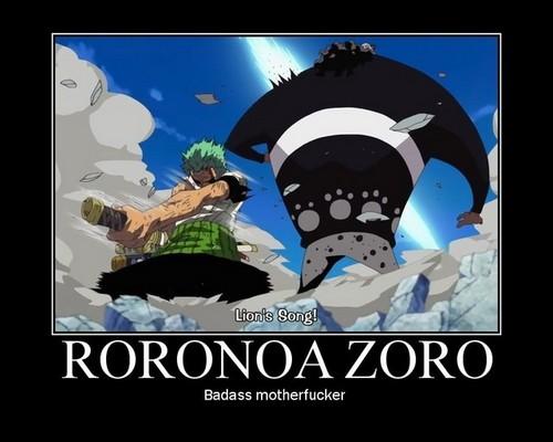zoro :)