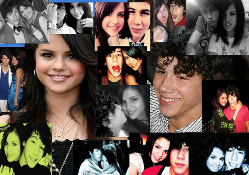 Niley VS Nelena wallpaper possibly containing a bridesmaid and a portrait called <3
