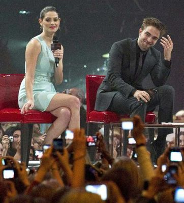 """Breaking Dawn Part: 1"" Stockholm ファン Event"