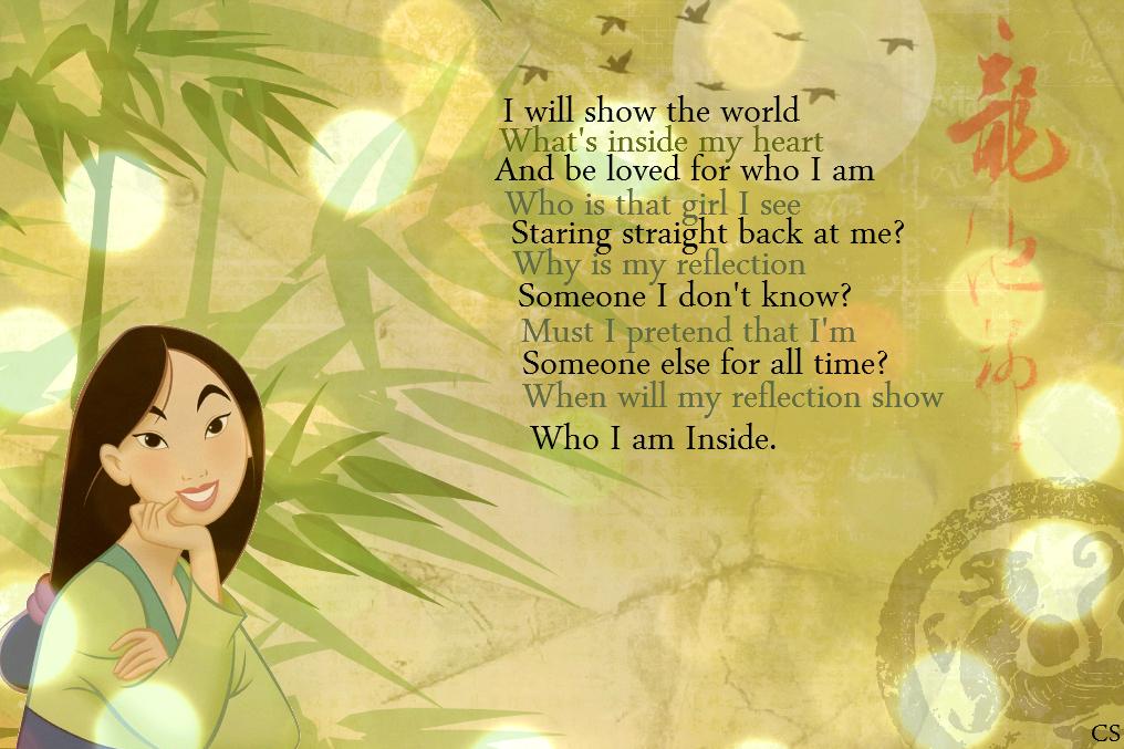 Disney Princess Images Mulan Wallpaper Hd Wallpaper And