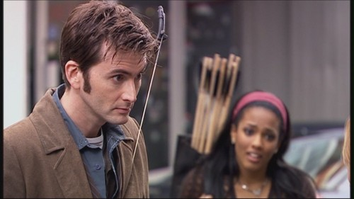 The Tenth Doctor 바탕화면 entitled 3.10 - Blink