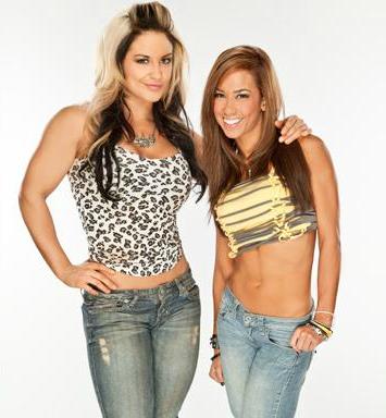 AJ Lee and Kaitlyn