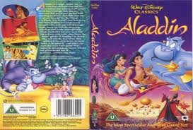 aladdín VHS Cover with Jafar