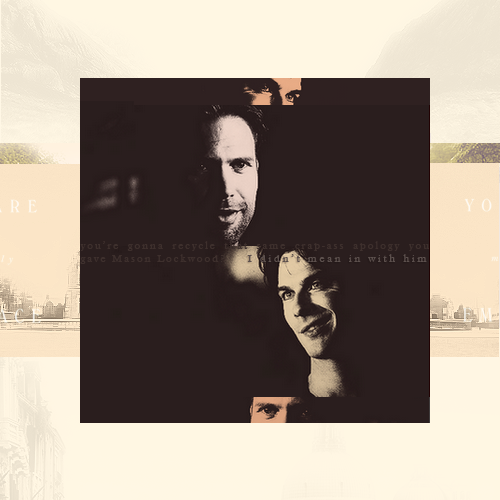 Alaric and Damon