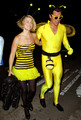 Ali with husband at Kate Hudson's Halloween Party - ali-larter photo