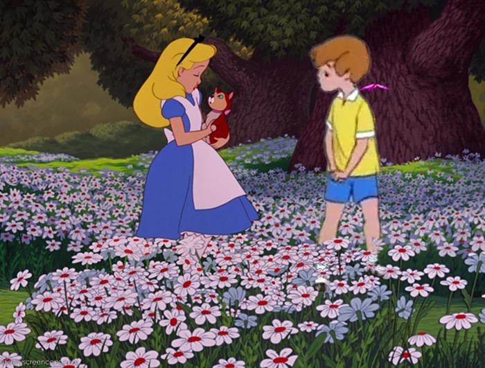 Alice and ChristopherRobin