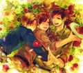 All the Bros. together - hetalia-romano photo