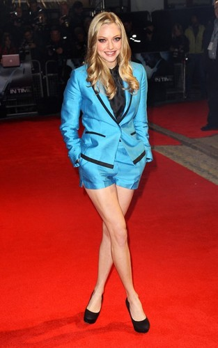 "Amanda Seyfried at the UK Premiere of ""In Time"" (October 31)."