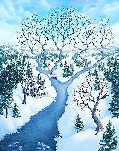 Amazing Art Drawings by Rob Gonsalves