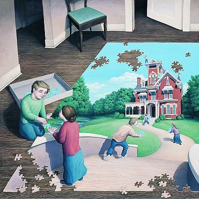 Amazing Art Drawings sa pamamagitan ng Rob Gonsalves