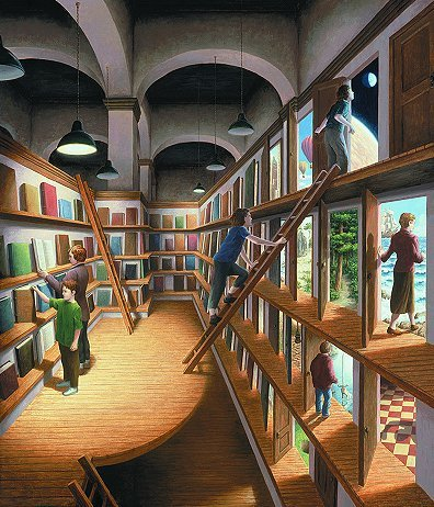 Amazing Art Drawings oleh Rob Gonsalves