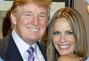 Days of Our Lives hình nền containing a business suit called Arianne Zucker & Donald Trump