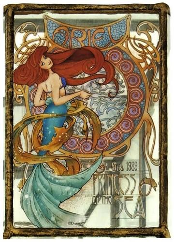 Ariel with a twist