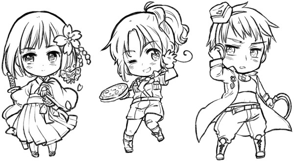 hetalia coloring pages allies - photo#14