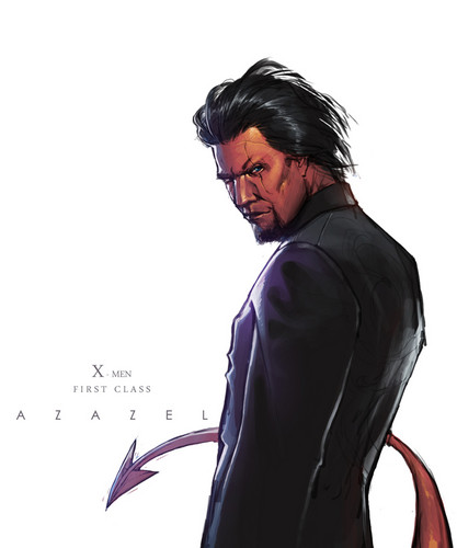 Azazel and Kurt - azazel-from-x-men Fan Art