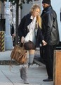 Blake on the Set of Gossip Girl in NY, Nov 1