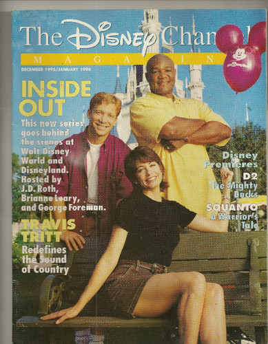 Brianne Leary on cover on Disney Inside Out magazine