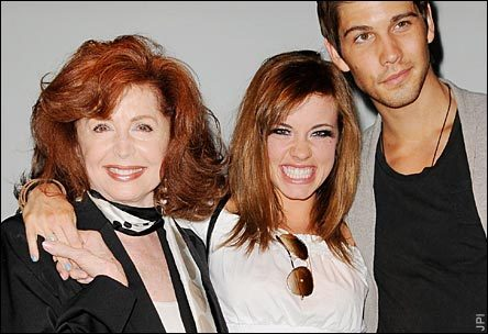 Suzanne Rogers, Molly Burnett, and Casey Deidrick