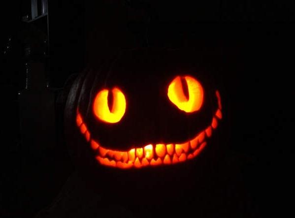 нарисовать тыкву на хэллоуин картинки