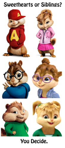 Chipettes <3!!! and the Chipmunks