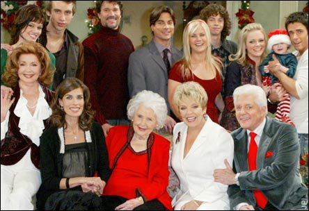 Days of Our Lives hình nền with a business suit called giáng sinh w/the Horton Family