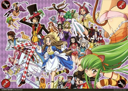 Code Geass karatasi la kupamba ukuta possibly with anime entitled Code Geass