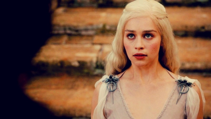 Daenerys in 'Winter Is Coming'