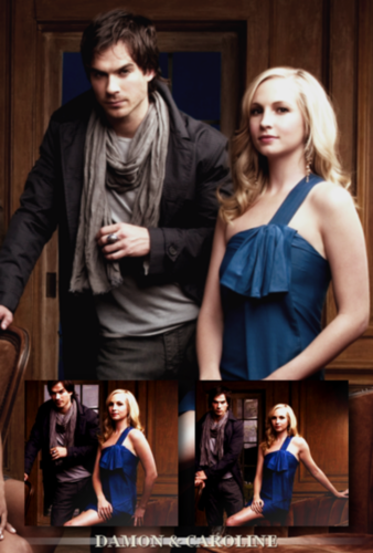 Damon & Caroline Hintergrund called Damon and Caroline :)