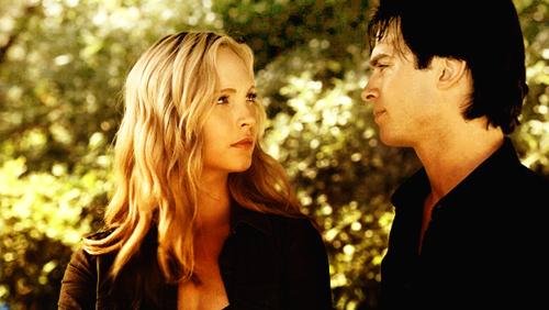 Damon and Caroline :)