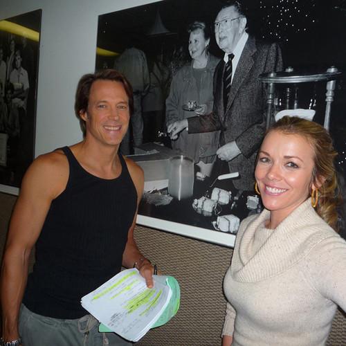 Matthew Ashford & Christie Clark