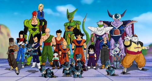 dragon ball z wallpaper probably containing anime entitled Dragonball Z
