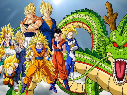 Dragon Ball Z fond d'écran with animé entitled Dragonball Z