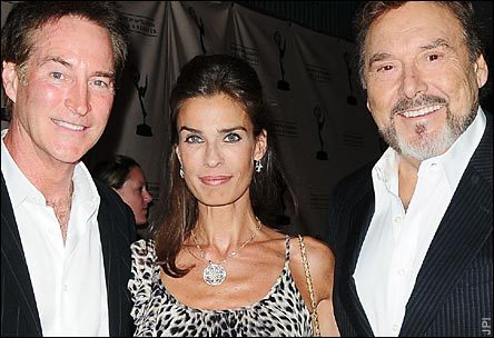 Il tempo della nostra vita wallpaper probably containing a portrait entitled drake Hogestyn, Kristian Alfonso, and Joseph Mascolo