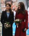 Duchess Catherine and the Princess of Denmark