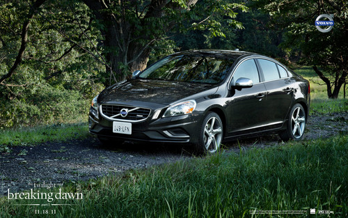 Edward's Volvo car in Breaking Dawn