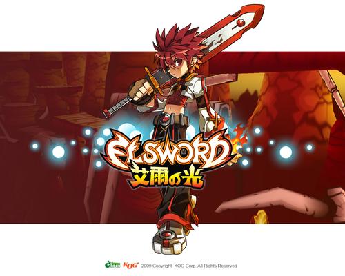 Elsword-Magic Knight দেওয়ালপত্র 01