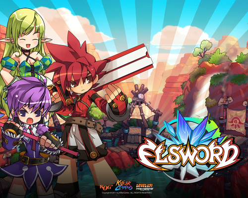 Elsword wallpaper 01