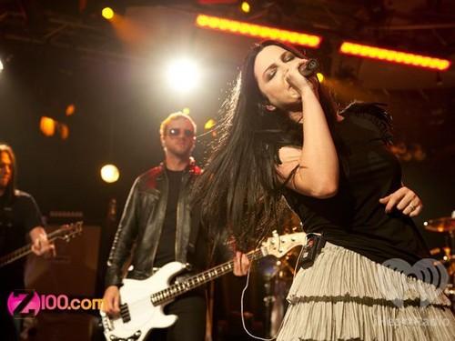 Evanescence iHeartRadio [October 31,2011]